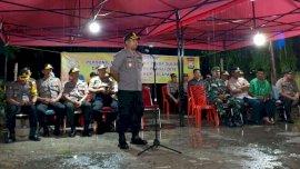Amankan Pemilu, 126 Personil Polda Sulsel BKO ke Selayar