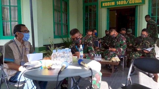 Dandim Gowa: Anggota TNI Wajib Kuasai Teknologi