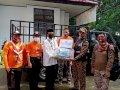 Kwartir Pramuka Gowa Salurkan Bantuan ke Warga Terdampak Banjir di Bantaeng- Jeneponto