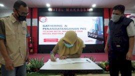 Telkom MakassarMoU dengan Radio Rewako FM, Ini Kerjasamanya
