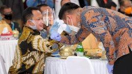 Mendagri Dorong Gerakan Sejuta Masker di Gowa jadi Contoh di Indonesia