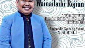 Kader Muhammadiyah Gowa Wafat, Dikuburkan di Macanda