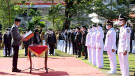 76 Pejabat Tinggi Pratama, Administrator dan Pengawas Pemkab Gowa Dilantik