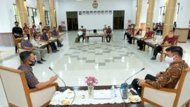 Jajaran PLN UP3 Makassar Temui Bupati Gowa, Ini Komitmennya