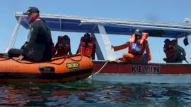 KM Tuna Sejati 01 Tenggelam di Perairan Pulau Samalona