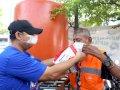 Peringati Hari Sumpah Pemuda, Dispora Gowa Ajak OKP Bagi Masker