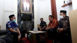 Pjs Bupati Aslam Patonangi Terima Kunjungan Bawaslu Gowa