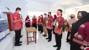 Tekan Angka Stunting, PKM Kanjilo Launching Satgas Konvergensi Tuppabunting dan Posyandu Remaja