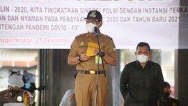 Pasca Libur Natal, Wabup Sidak ASN di Lingkup Pemkab Gowa