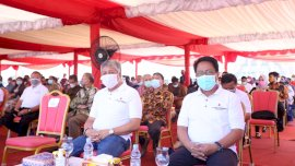 Pjs Bupati Gowa Hadiri Ground Breaking Pembangunan Twin Tower