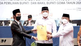 Pleno KPU, Pasangan Adnan-Kio Ditetapkan Sebagai Bupati dan Wabup Terpilih