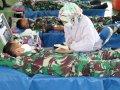 Bantu Korban Bencana Sulbar, Divif 3 Kostrad Gelar Baksos Donor Darah