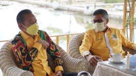 Pesan Taufan Pawe Untuk Ketua DPD II Golkar Lutra Kedepan
