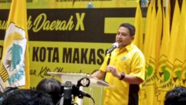 Appi Terpilih Aklamasi Ketua Golkar Makasaar