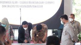 MoU dengan PT Cimory, Pemkab Gowa Sediakan 3 Lokasi