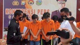 Tiga Petani di Gowa Diringkus Polisi Setelah Transaksi Narkoba dengan Sopir