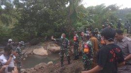 Danrem 141/TP Kunjungi Lokasi TMMD di Tanakaraeng, Begini Penyampaiannya