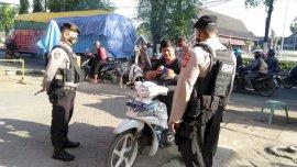 Tegakkan Disiplin Prokes, Polres Gowa Kembali Gelar Operasi Yustisi