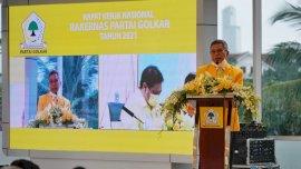 Rakernas DPP Partai Golkar, Taufan Pawe Siap Mengawal Kebijakan Airlangga Hartarto