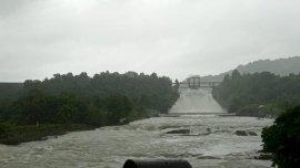 Curah Hujan Tinggi, Pintu Spillway Bendungan Bili-bili Dibuka 2 Meter