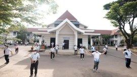 Foto: Wabup Gowa Senam Rabu Sehat Bersama Jajaran Pemkab