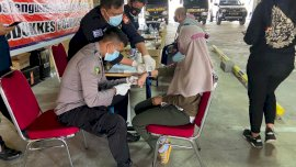 Biddokkes Polda Sulsel Ambil Data Antemortem dan Tes DNA Keluarga Pelaku Bom Katedral