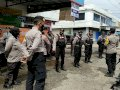 Antisipasi Unras Anarkis, Polres Gowa Turunkan Personil Gabungan di Batas Kota
