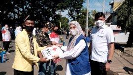 Jelang Ramadan, PMI Sulsel Gandeng OKP Sterilkan Masjid