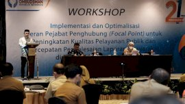 Dari Workshop Ombudsman, Pj Sekda Ingin Fokus Tingkatkan Pelayanan Publik di Gowa