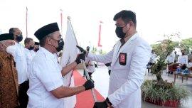 Resmi Dilantik, Wabup Takalar Nahkodai Ketua PMI