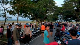 Sehari Jelang Ramadan, Polisi dan Denpom Amankan Ratusan Sepeda Motor di Gowa