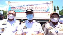 Lepas Ekspor 2 Ribu Ton Ikan, Plt Gubernur Akan Bantu Penerbangan ke Sejumlah Negara