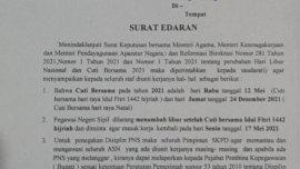 Bupati Adnan Warning ASN yang Tambah Libur Hari Raya Idul Fitri