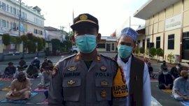 106 Tahanan Polres Gowa Diberi Kesempatan Sholat Id