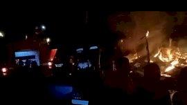 Ditinggal Mudik, Rumah Warga Manggarupi Ludes Terbakar