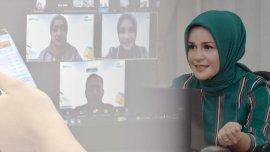 Lewat Wabiner, Priska Adnan Berbagi Tips Pendidikan Anak
