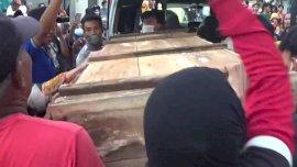 Mayat Pria Dibakar di Maros Dikubur Gowa