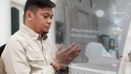 Bupati Adnan Ikut Pray Form Home Untuk Indonesia