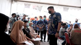 IMA Gelar Vaksin Massal, Pesertanya Ratusan Warga Gowa dan Makassar