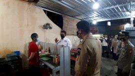 Petugas PPKM Mikro di Gowa Masih Temukan Warung Makan Melanggar