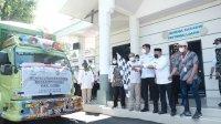 Bupati Adnan Lepas Ribuan Paket Beras Untuk Masyarakat Terdampak PPKM
