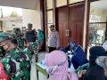 Polisi dan TNI Amankan Vaksinasi Massal di 2 Kecamatan di Gowa