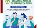 Vaksin Massal Pemkab Gowa, Sasar Kelompok Masyarakat