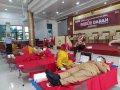 Bulan Bakti Gerakan Pramuka, Kwarcab Gowa Gelar Aksi Donor Darah