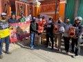 Komunitas Motor YNCI Makassar Chapter Salurkan 50 Paket Sembako bagi Korban Kebakaran di Lepping