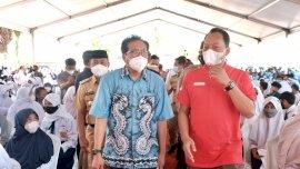 Presiden Jokowi Dukung Vaksin Massal Belajar, Khusus di Gowa Ikut Vaksin Capai 1.176 Siswa