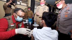 Pemkab Gowa Dorong Cakupan Vaksin Realisasi Vaksin 10.600 Pelajar