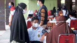 AMP Gowa Target 1.000 Pelajar Sudah Vaksin