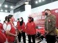 PMI Sulsel Gandeng Perempuan Indonesia Maju Donor Darah dan Vaksin
